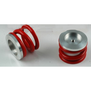 Ressorts suspension rouge ( race ) par paire -Austin Mini -