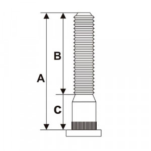 Goujon 36 mm / model B