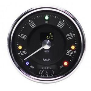 Compteur 0-140 Km h Smith électronique et programmable -Austin Mini