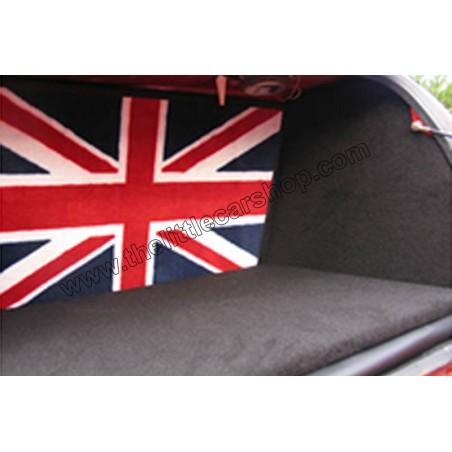 Intérieur de coffre rigide - noir UNION JACK - Austin Mini