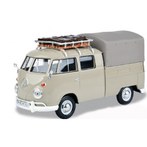 1/24 Combi T1 Pick Up double cabine avec bache