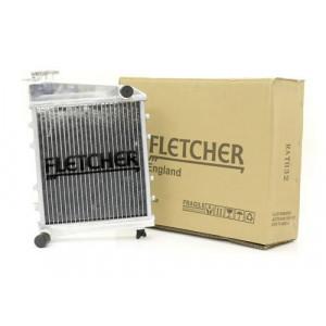Radiateur alu Fletcher sans sonde avec bouchon-Austin Mini