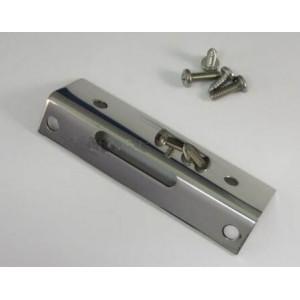 Habillage INOX POLI mécanisme serrure de malle arrière-Austin