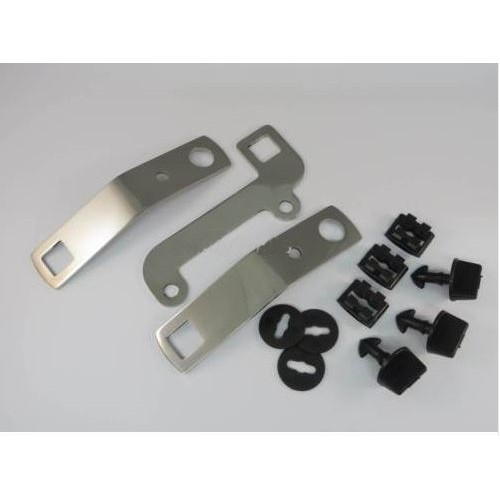 kit de fixation de plaque de protection INOX POLI - Austin