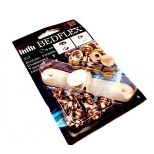 Kit de 12 boutons pression - Austin Mini