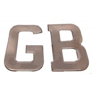 Lettre GB résine chromé - Austin Mini-Austin Mini