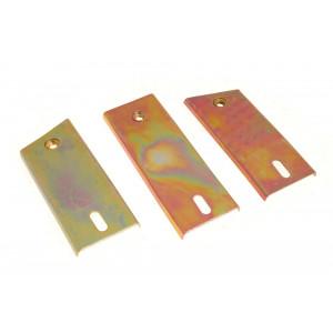 Patte de calandre - lot de 3 - MG MGB-MG MGB