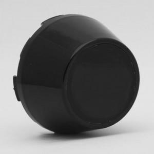 Centre de roue noir - Austin Mini
