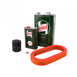 N°10 - Pack Vidange CASTROL 20w50 + Filtre air MPI-Austin Mini