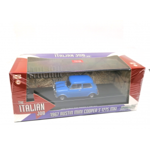 1/43 Austin mini cooper ''L'or se barre'' bleu