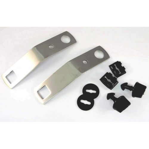 kit de fixation de plaque de protection INOX - Austin