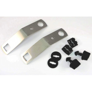 kit de fixation de plaque de protection INOX - Austin Mini