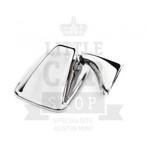 Rétro plat chromé D INOX - Austin Mini-Austin Mini