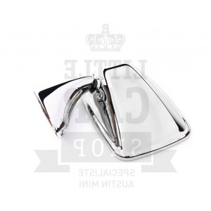 Rétro plat chromé G INOX - Austin Mini-Austin Mini