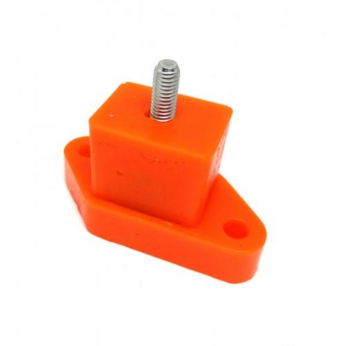 POL13 - Silent bloc POLYFLEX - carré echappement-Austin Mini