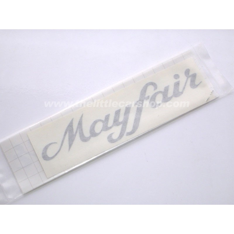Kit Autocollant : Mayfair noir - Austin Mini