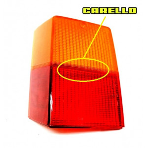 Cabochon supérieur feux AR Gauche - Austin Mini - Carello