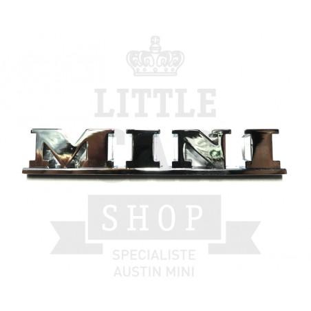 Badge Mini chromé - Austin Mini