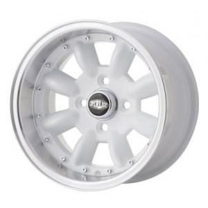 Jante Superlight MKII Silver- Austin Mini - 7X13