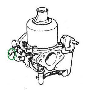 Serre cable à goupille - Austin Mini-Austin Mini