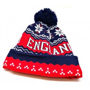 Bonnet ''England'' avec pompom