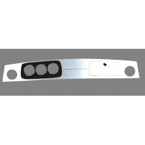 Tableau de bord / Alu brossé - MINI - S9459-Austin Mini