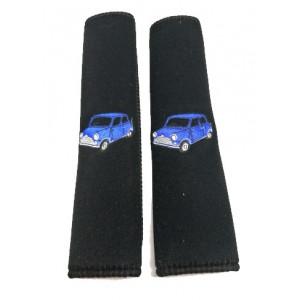 Mousse protection épaule - Austin Mini - bleu-Austin Mini