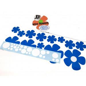 Planche Autocollants '' Flower Power'' couleur au choix-Austin