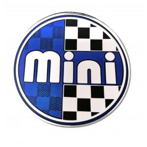 Autocollant badge / centre de roue'' MINI'' 42mm