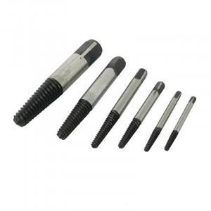 Extracteurs de vis, 6 pcs 3 - 25 mm