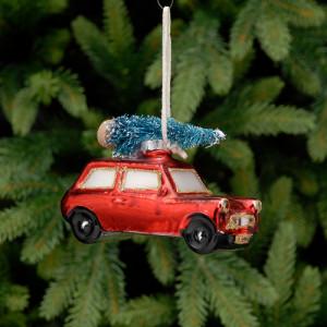 Boule de noël - Austin Mini -