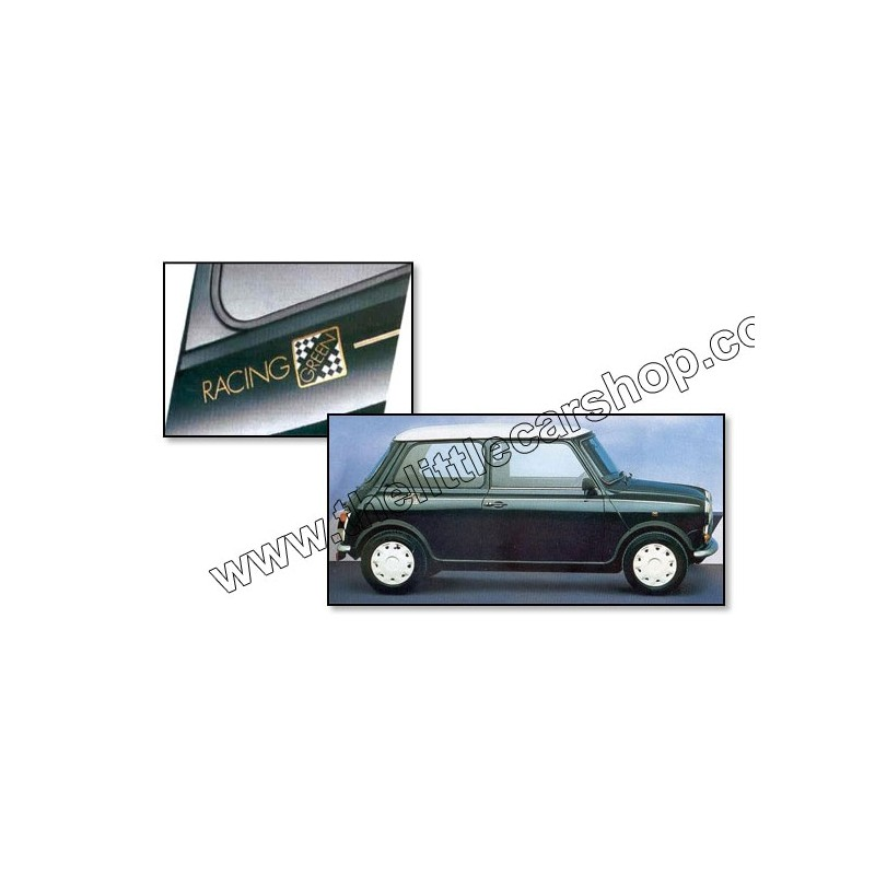 Kit Autocollant : Racing Green - Austin Mini