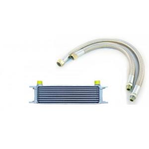 Kit radiateur huile 10 Rgs + fléxible - Austin Mini - 1959 /