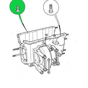 Vis entre Boite de vitesse et bloc moteur - Austin Mini