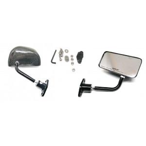 Paire de rétro style F1 carbon / Petit model-Austin Mini