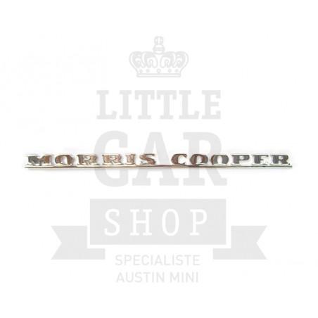 Badge malle Morris Cooper MK1 - Austin Mini