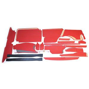 Kit panneau intérieur 32 pièces / compteur ovale - Austin Mini