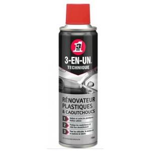 3-EN-UN Technique Rénovateur Plastiques & Caoutchoucs 250 ml