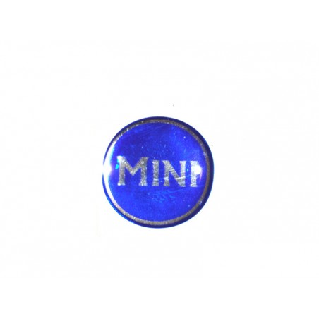 Autocollant Mini bleu (27 mm) - Austin Mini-Austin Mini