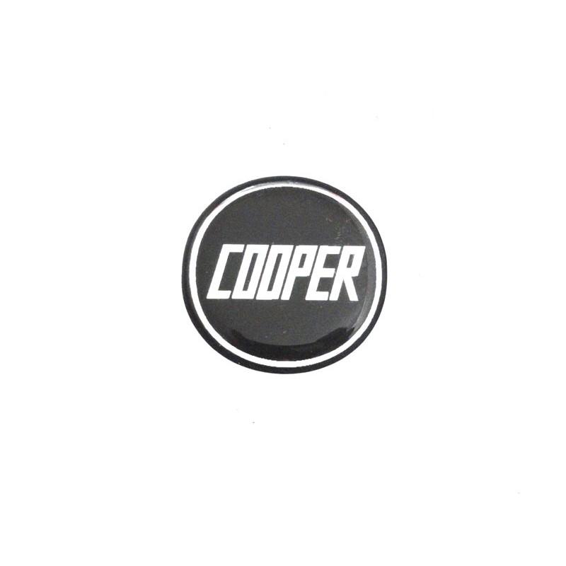 Autocolant Cooper noir (27 mm) - Austin Mini