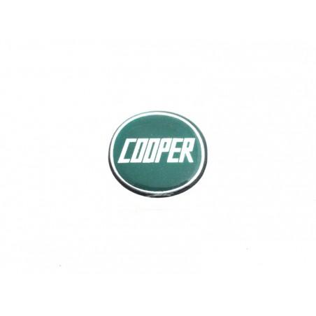 Autocolant Cooper vert (27 mm) - Austin Mini