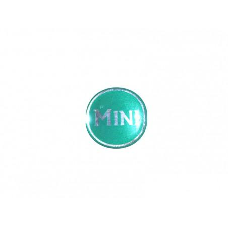 Autocolant Mini vert (27 mm) - Austin Mini