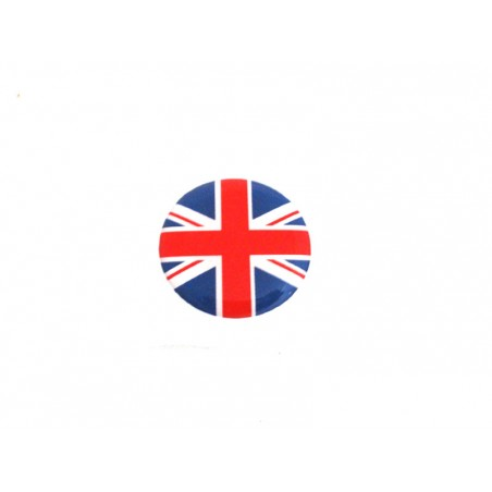 Autocolant Union jack bleu / rouge (27 mm) - Austin Mini