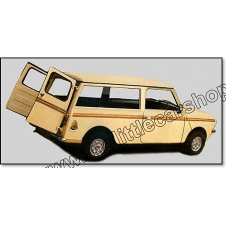 Kit Autocollant : Clubman Estate (bronze)-Austin Mini