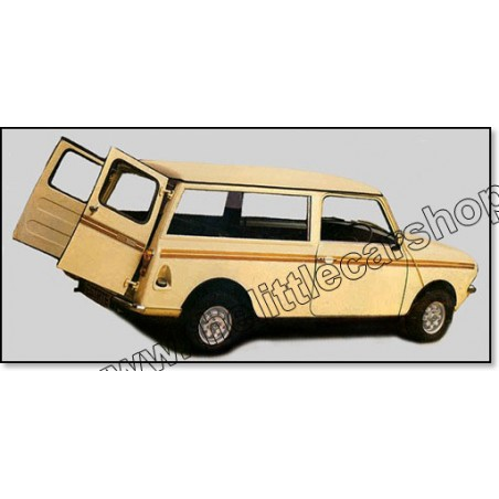 Kit Autocollant  : Clubman Estate (bronze)