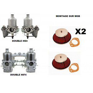 Filtre à air cone HS4 / HIF38 (avec joint d'embase)