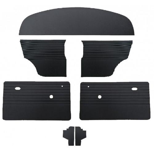 Pack garniture intérieur noir 1969 - 2000 - Austin Mini