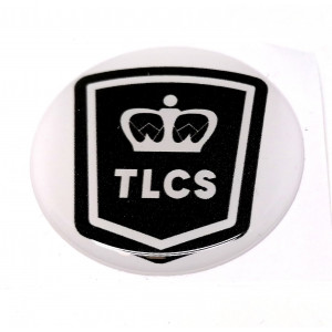 Autocollant rond TLCS / 42 mm-