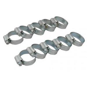 Kit de 10 colliers de serrage diamètre de 22 à 30 mm-Austin Mini