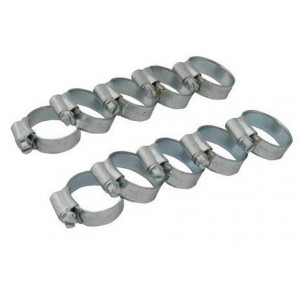 Kit de 10 colliers de serrage diamètre de 16 / 22 mm-Austin Mini